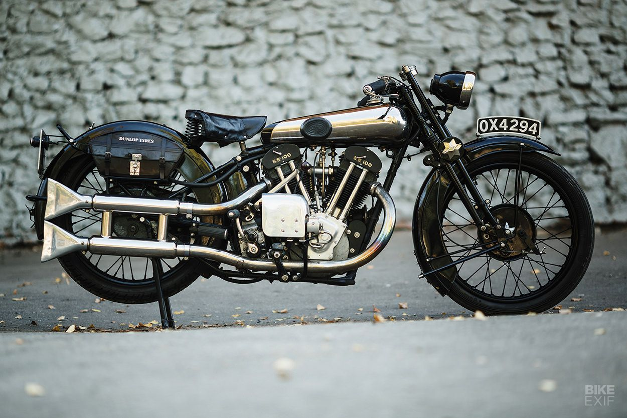 A Brough Superior SS100 surfaces in deepest Russia   Vintage ...