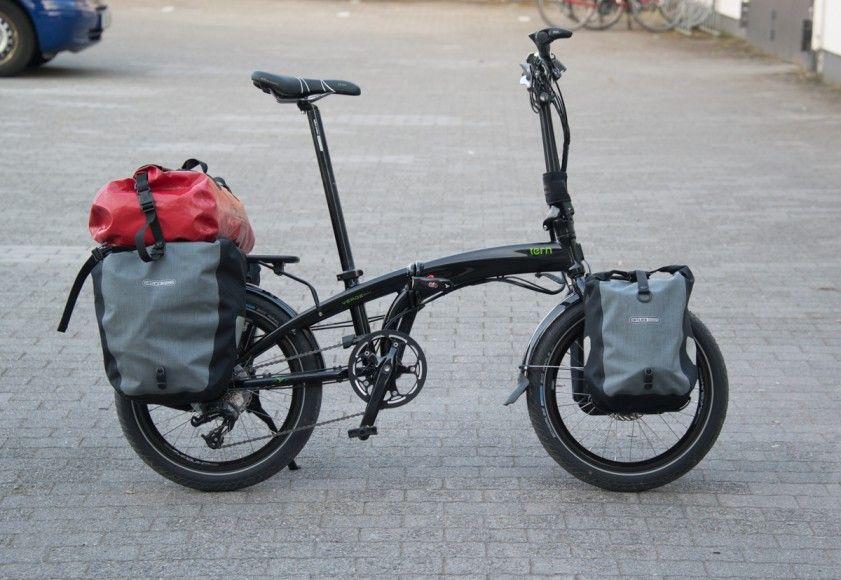 Pin Di Touring Foldable Bicycles