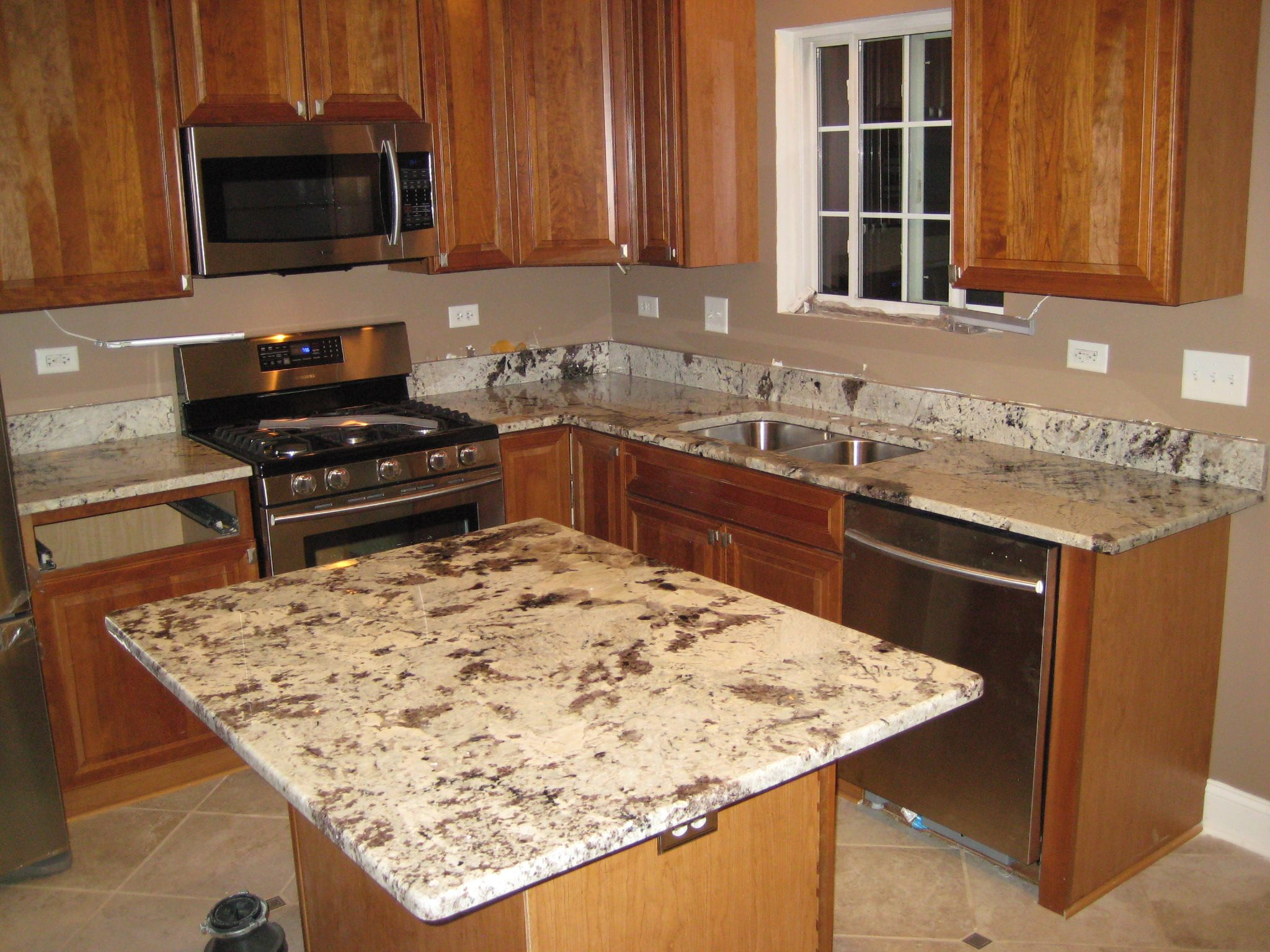 Granite Alaskan White Copuntertops BY Art Granite Countertops Inc. Free In  Home Measurement Of Your Kitchen Countertops And Free Quote .