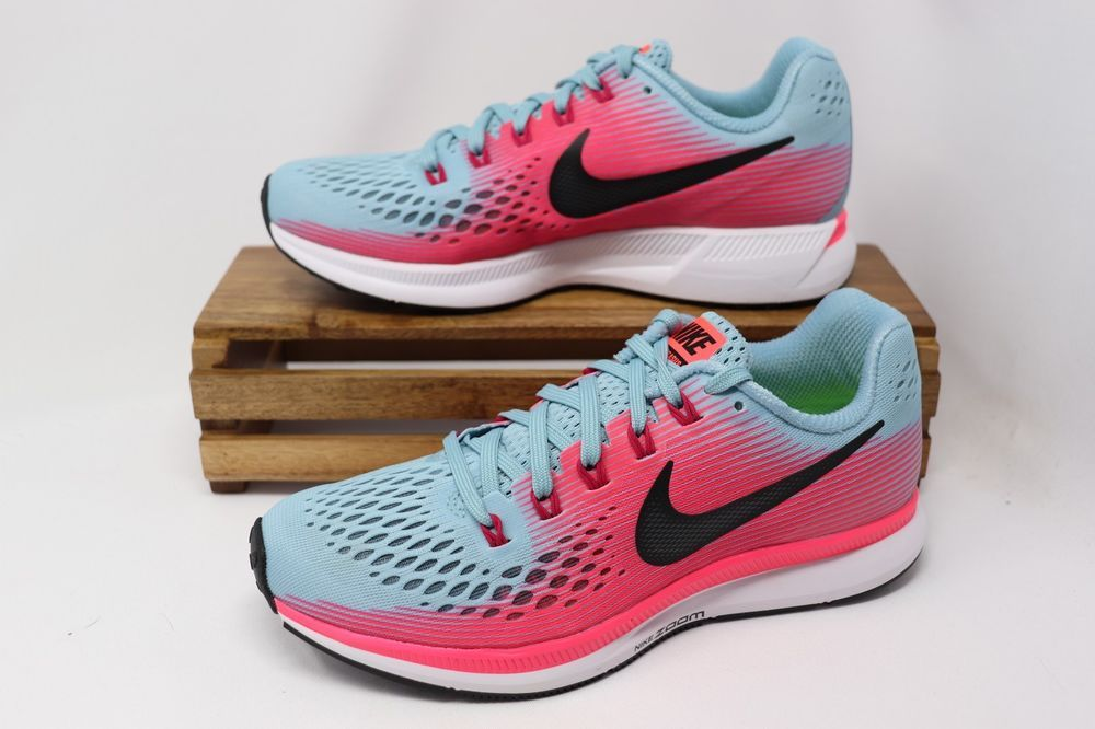 Observar Mimar papa  Nike Women's Air Zoom Pegasus 34 Running Shoes Teal Pink White 880560-406  NEW #fashion #clothing #shoes #accessories #womensshoe… | Teal and pink,  Nike women, Shoes