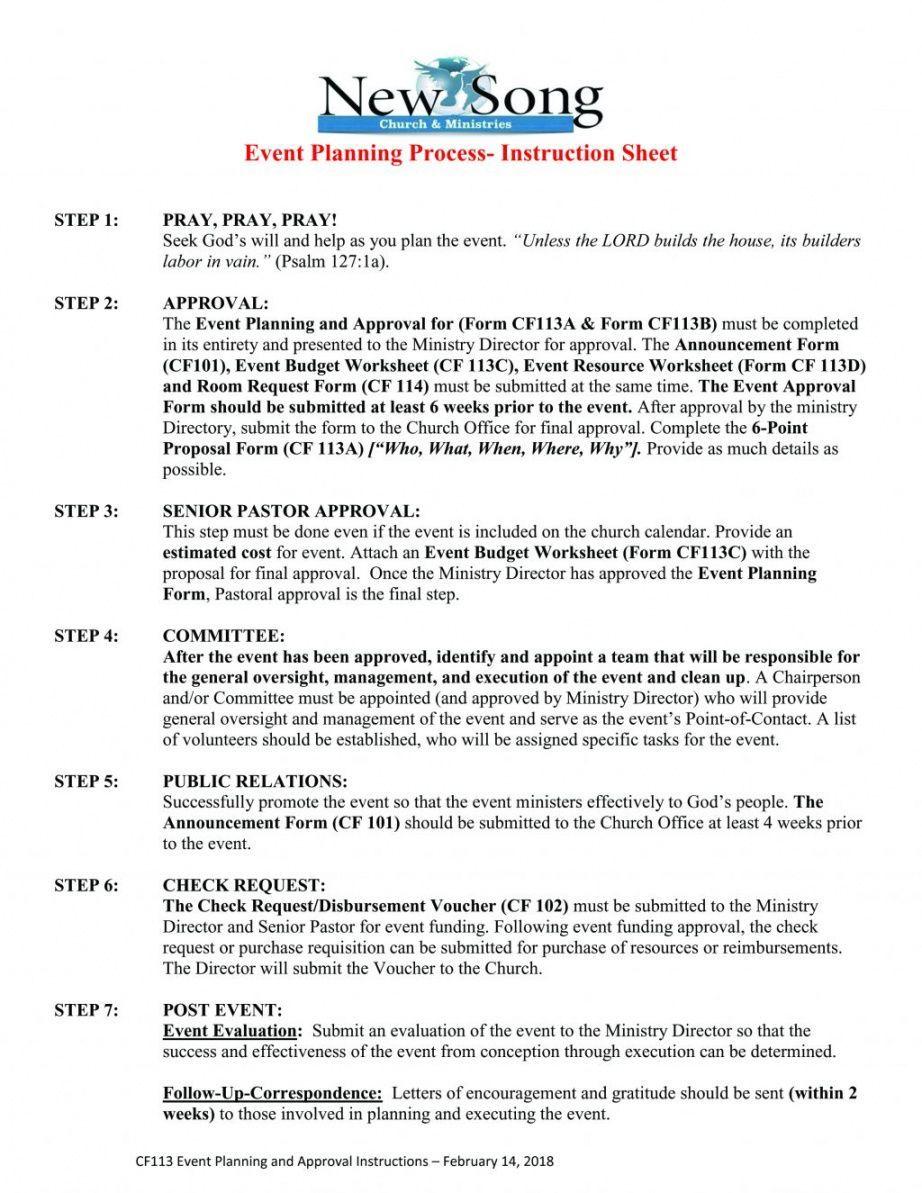 Publicity Proposal Template Event Management Dissertation
