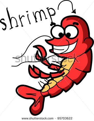 crawfish clip art free online cartoon shrimp cartoons rh pinterest com shrimp clip art border shrimp clip art free