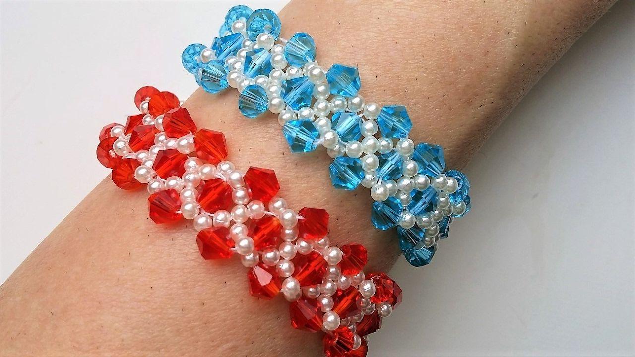 Easy diy elegant bracelet design jewelry making for