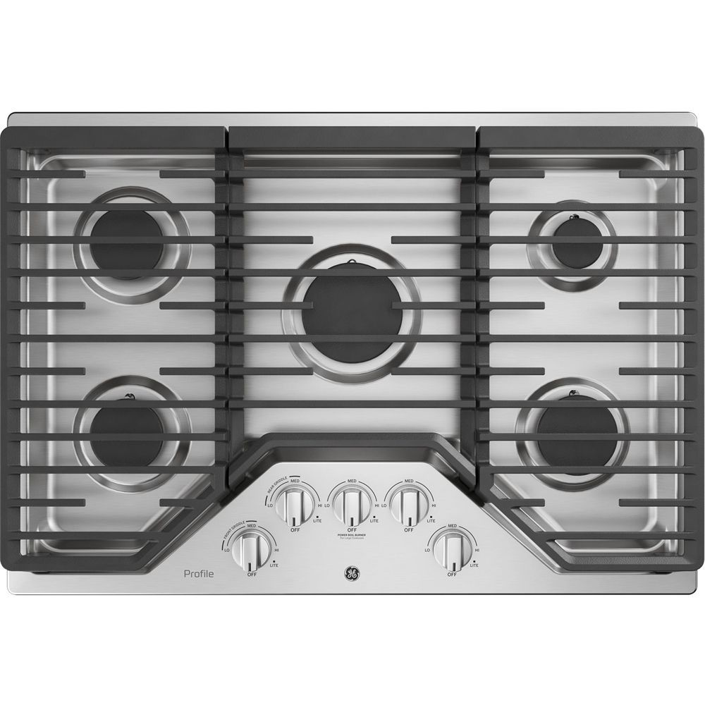 Ge Profile 30 Gas Cooktop Stainless Steel Gas Stove Top
