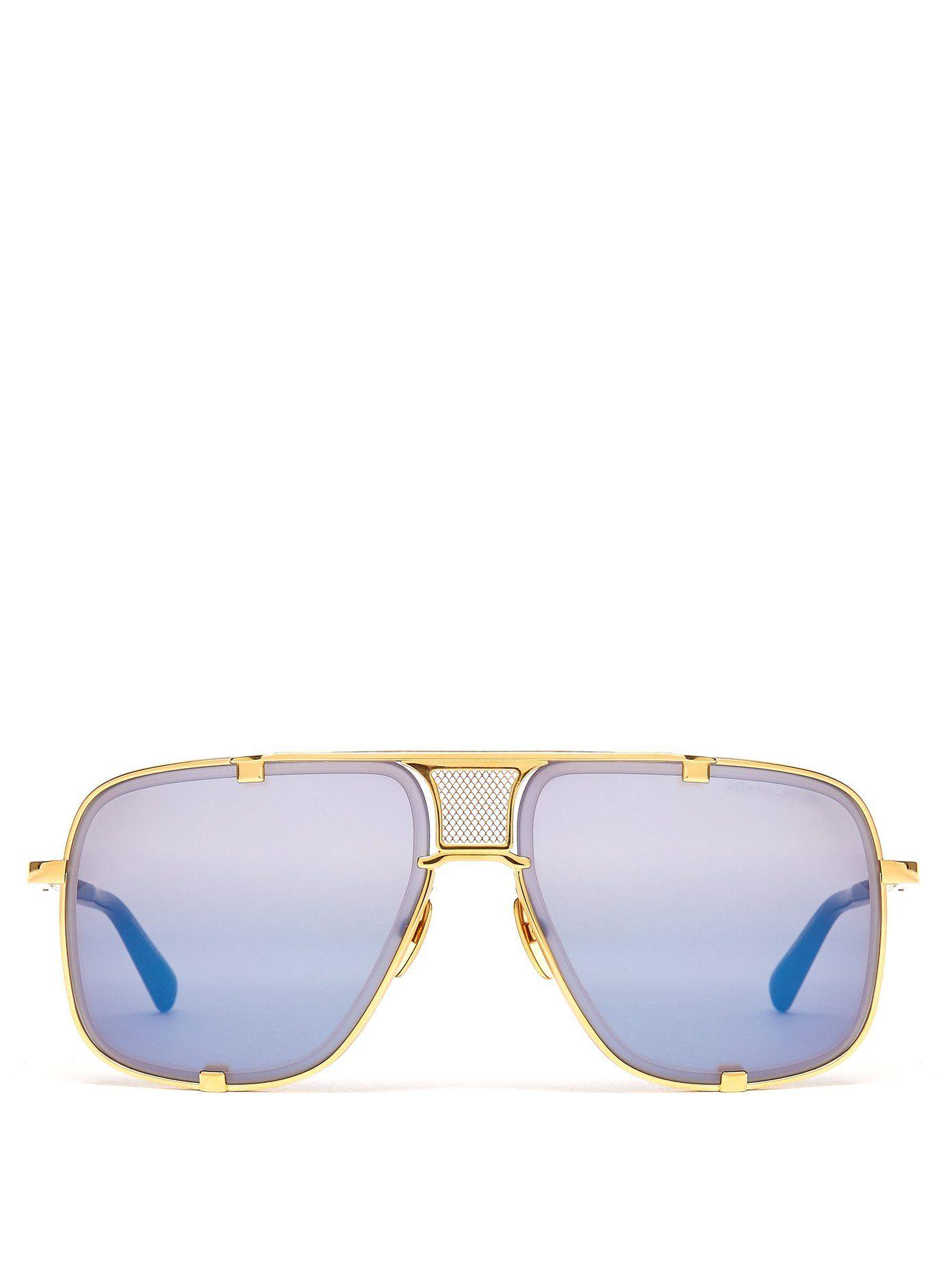 54d0499cd74 DITA Mach-Five metal sunglasses