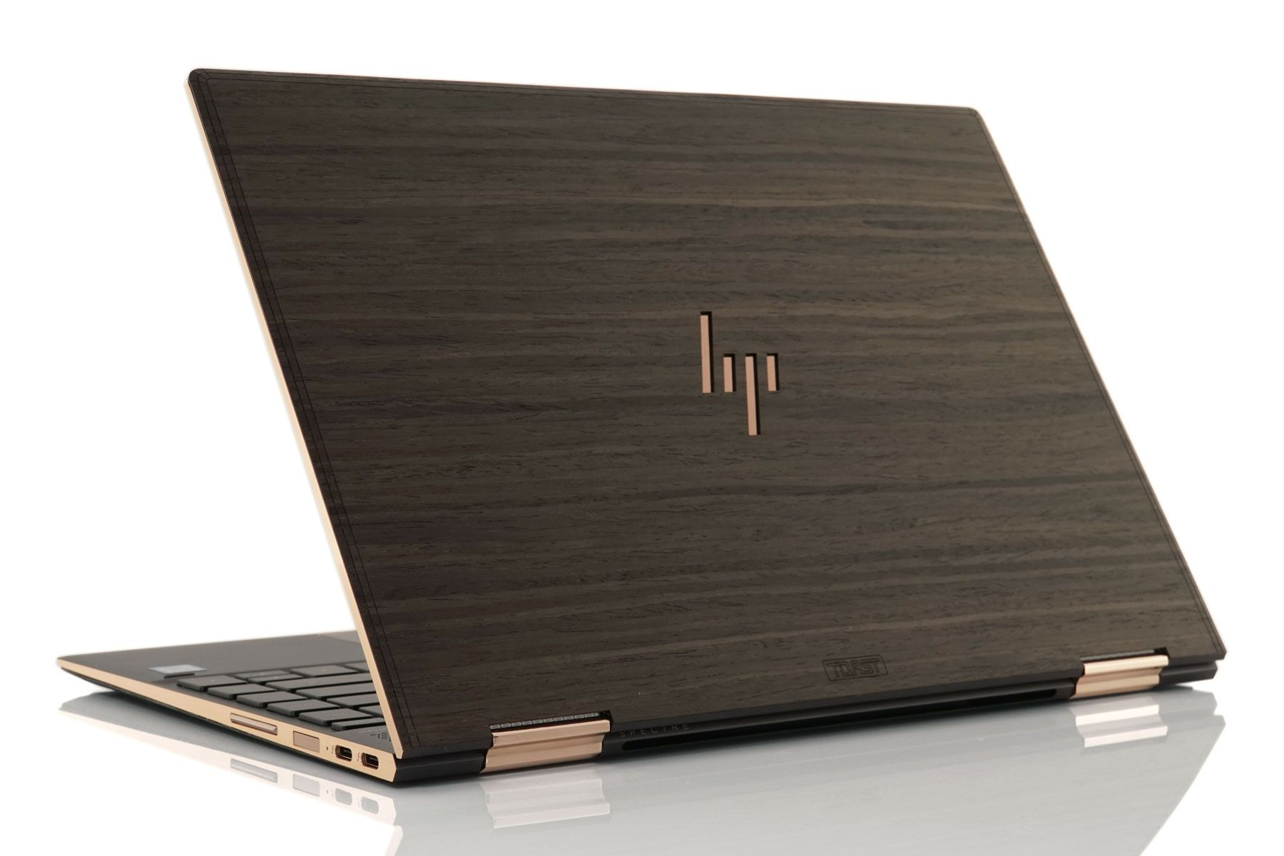Toast real wood covers are now available for the 2018 hp spectre x360 add a naturally sleek look to your laptop each cover is laser cut from a piece of