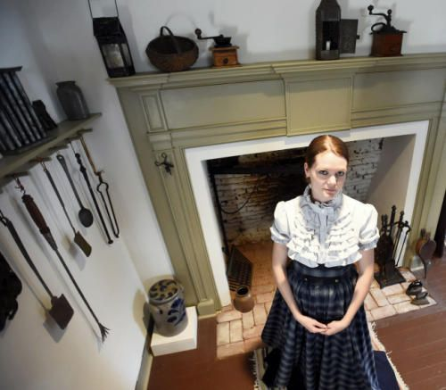 """Kate Green will play Lily Trolloper the """"Lady of the Night"""" character during Murder at the old Jail on Friday, October 17, 2014. Ryan Blackwell - Public Opinion"""