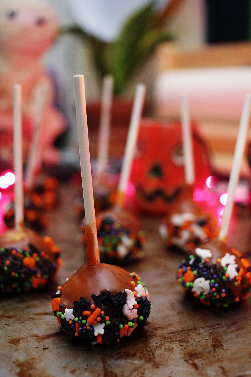 Miniature Candied Apples Recipe (With images) Candy