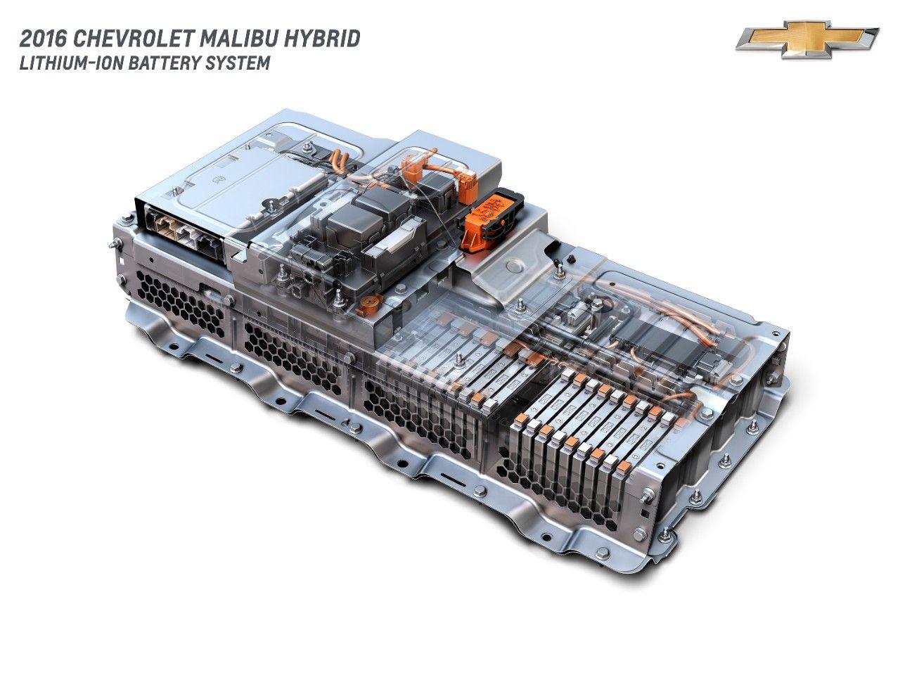 2016 Chevrolet Malibu Hybrid Lithium Ion Battery System Malibu Hybrid Chevrolet Malibu Chevy Malibu Hybrid