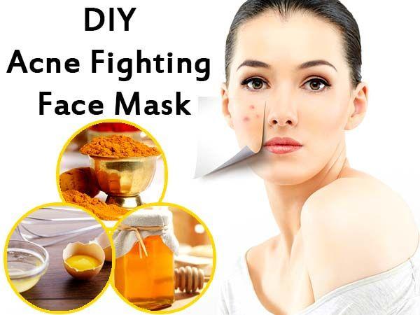 DIY Egg White, Lemon Juice And Turmeric Powder Acne-fighting Face ...