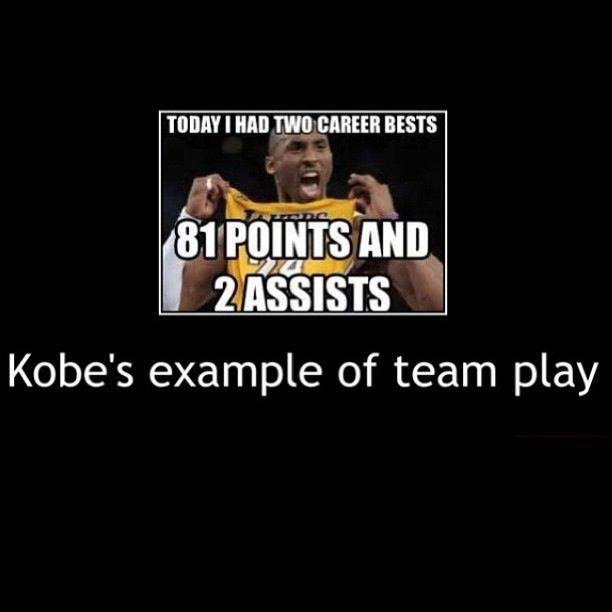 Haha Kobe Bryant Is Still A Beast For Scoring 81 Points Kobe Bryant Memes Funny Quotes Kobe