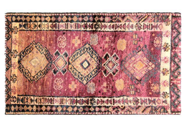 """Anatolian Oushak Rug, 3'7"""" x 6'1"""""""