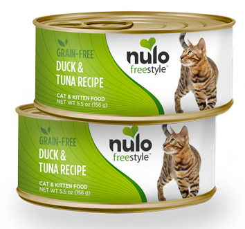 Nulo FreeStyle Grain Free Duck and Tuna Recipe Canned