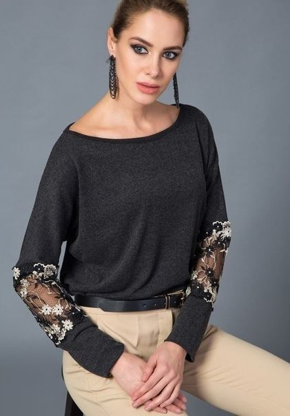 22 Black Blouses For Party For Starting Your Spring Summer