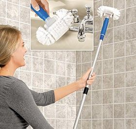 This Is Awesome Cause My Pet Peeve Is Cleaning My Shower Have To Reach Up And Stand In The Tub