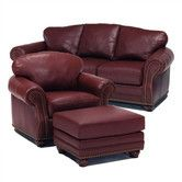 Found it at Wayfair - Distinction Leather Addison Leather Sofa and Chair Set