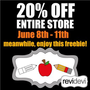 Enjoy 20 Off Entire Store Until June 11th 2017 Get Quot Buy All Commercial Use Clip Art Lifetime Acce Clip Art Back To School Activities School Activities