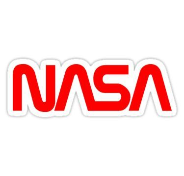 'NASA Logo' Sticker by Salfaromeab