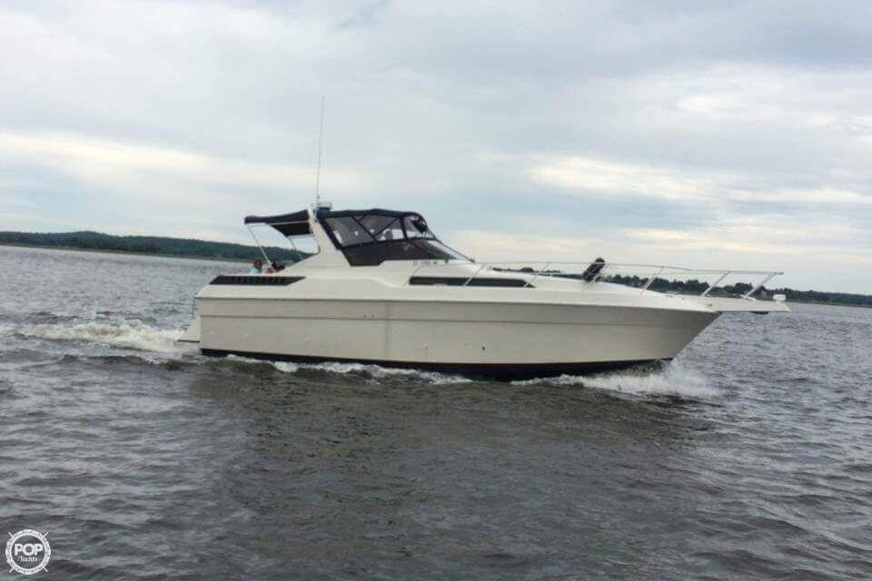 1988 Silverton 34x For Sale Style Settee Yacht Model Cabin Floor Plans
