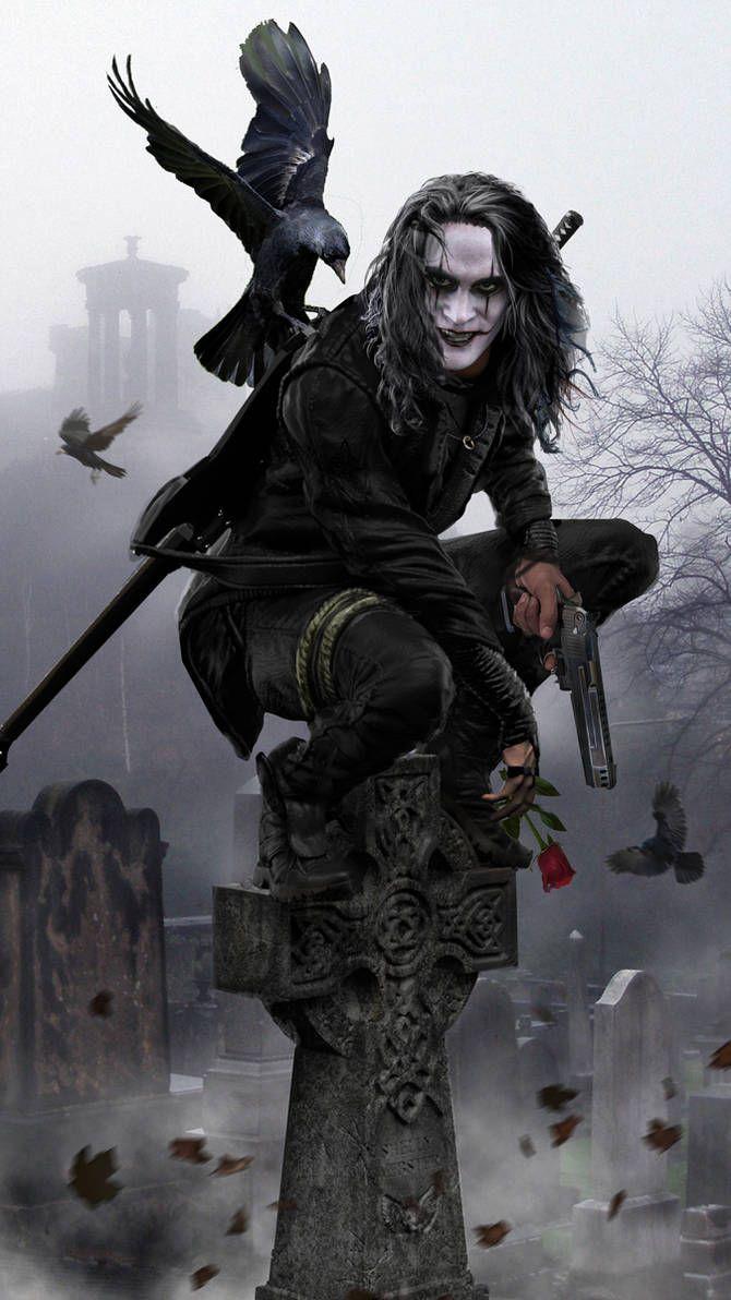The Crow v1.0 WIP by uncannyknack on DeviantArt