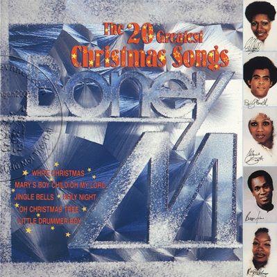 NHẠC SƯU TẦM: Boney M : The 20 Greatest Christmas Songs (1986) | Christmas medley, Songs ...