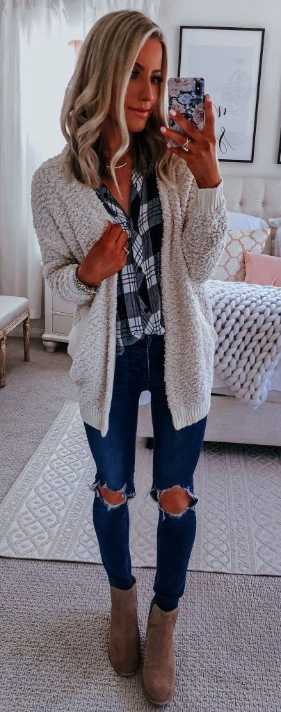 bb4b25cc69 #Fall #Outfits 45 Trendy Fall Outfits To Copy ASAP 15 | Baby, It's Cold  Outside in 2018 | Pinterest | Fall outfits, Outfits and Fashion