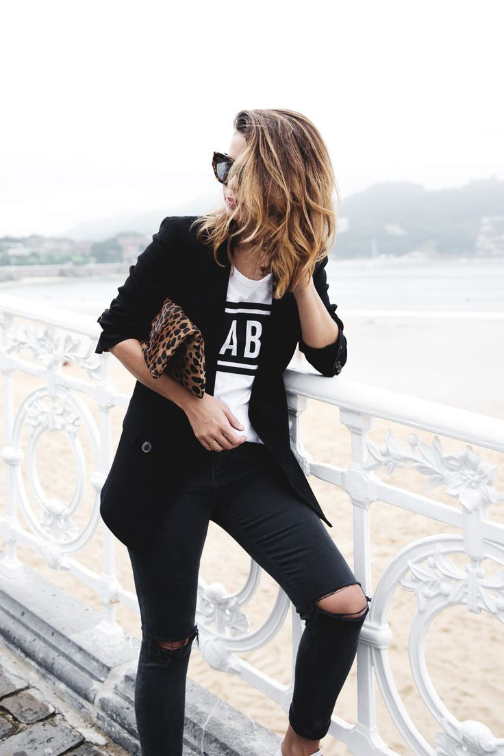 Black and White Outfit for Teens 3