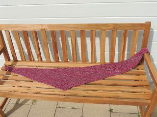 Maaksels van CarlaK: Warme sjaal asymmetrische sjaal, met uitleg