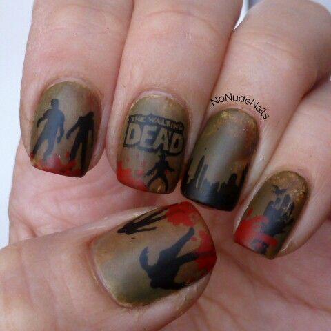 Walking dead nails