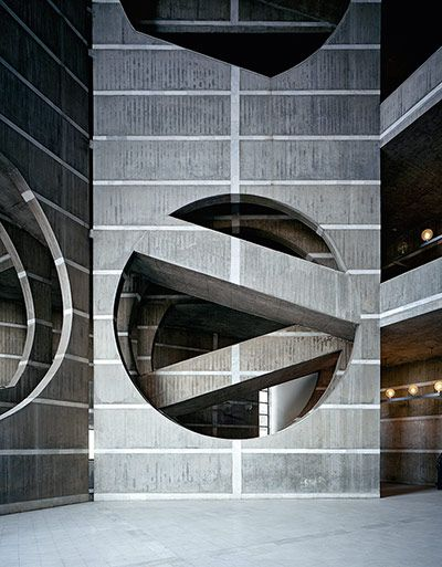 Louis Kahn: Parlamentsgebäude in Dhaka, Bangladesh