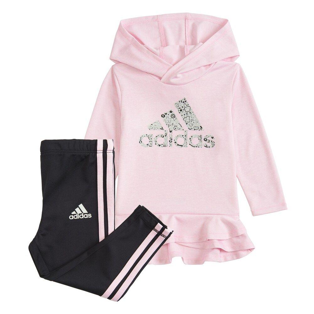 Baby Pink Adidas Sweatshirt