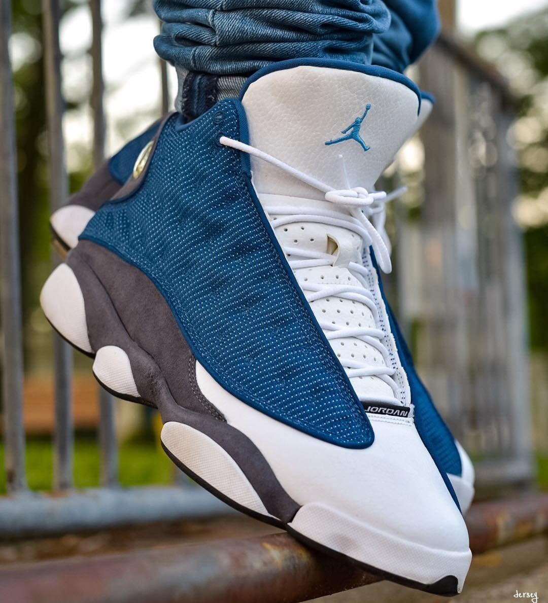 Air Jordan Blue | Buty, Moda