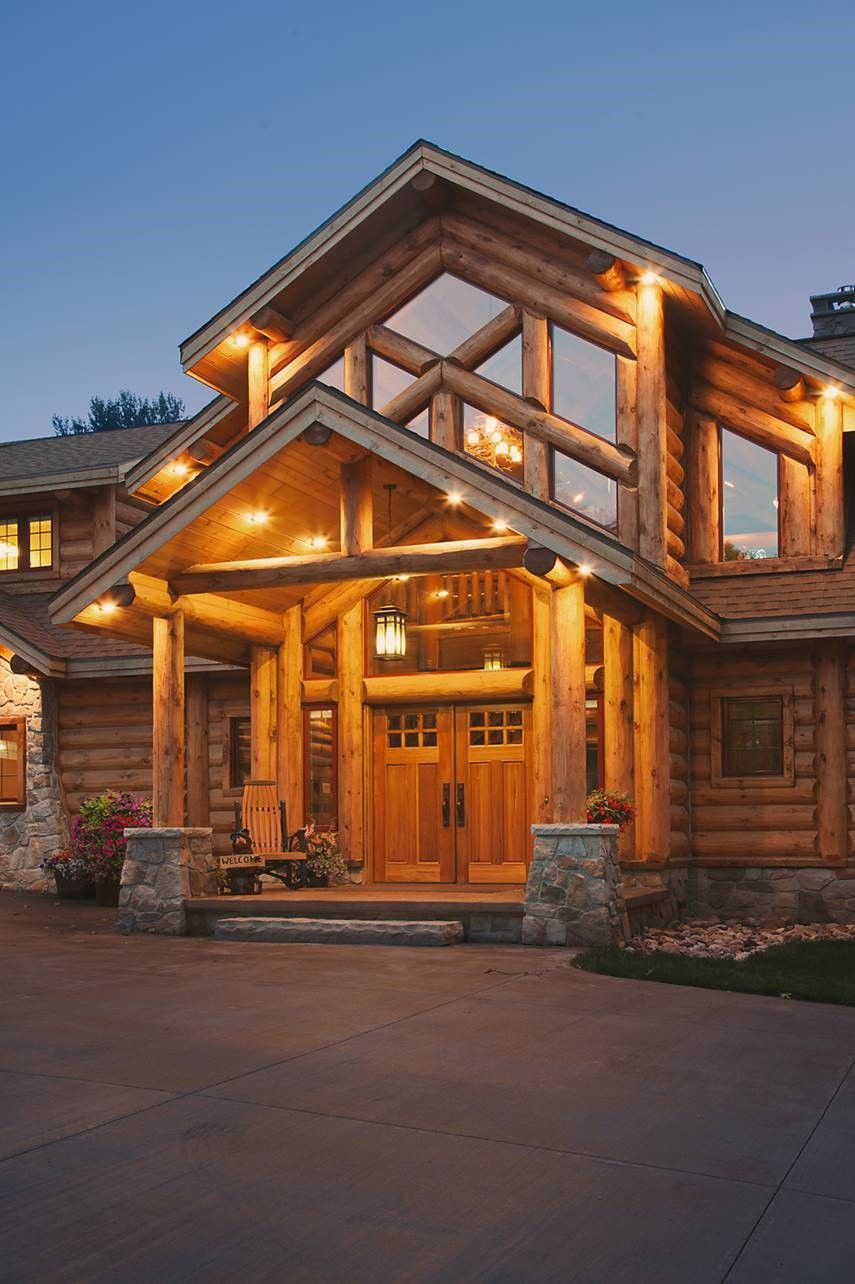 Wisconsin Log Homes National Design & Build Services for Custom Log & Timber Frame Homes www.wisconsinloghomes.com