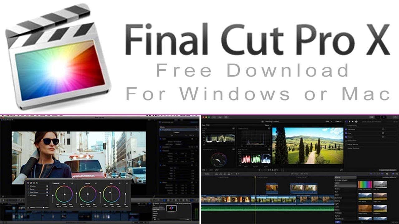 get final cut pro free windows