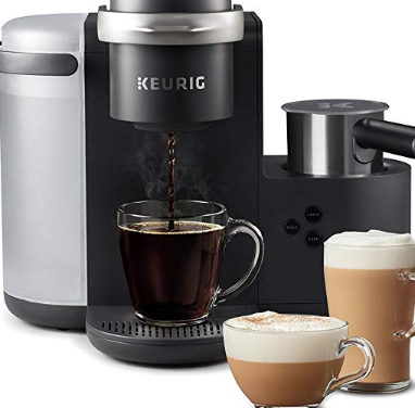 Keurig K Cafe Single Serve K Cup Coffee Maker Latte Maker And