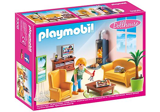 Pin Von Michelle Vega Auf Playmobil Playmobil Puppenhaus Kamin Wohnzimmer