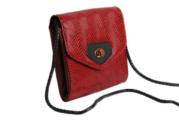 Adorable Snakeskin Cross Body Bag From Dolly Daisy Animalprint Style