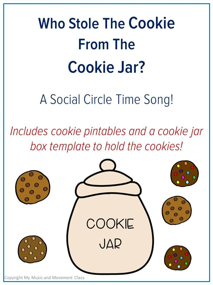 Who Stole the Cookie from The Cookie Jar?, preschool music