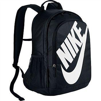 Rebel Sport - Nike Hayward Futura 2.0 Solid Backpack Black White 25 Litres 454b8c2cc4d52