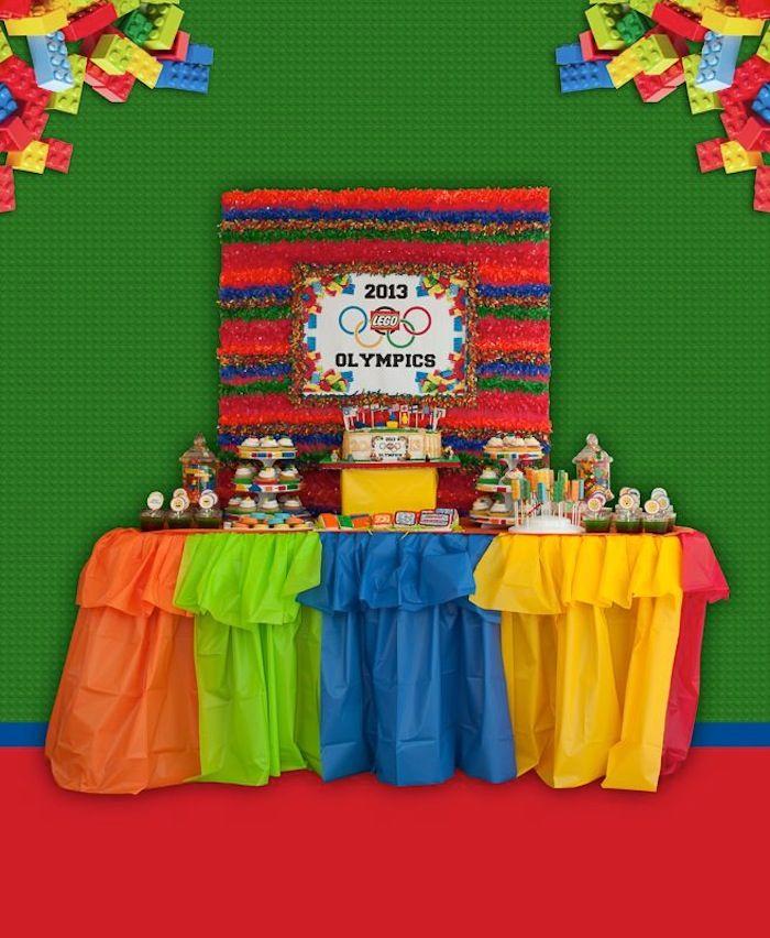 Lego Olympics Themed Birthday Party {Planning, Decor