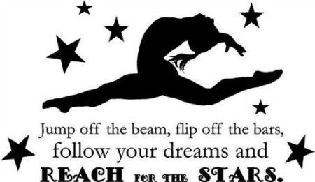 50 Gymnastics Quotes in 2020   Gymnastics quotes, Gymnast ...