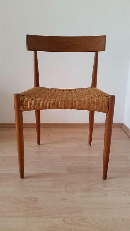 6er Set Mogens Kold Vintage Teak Stühle Danish Design
