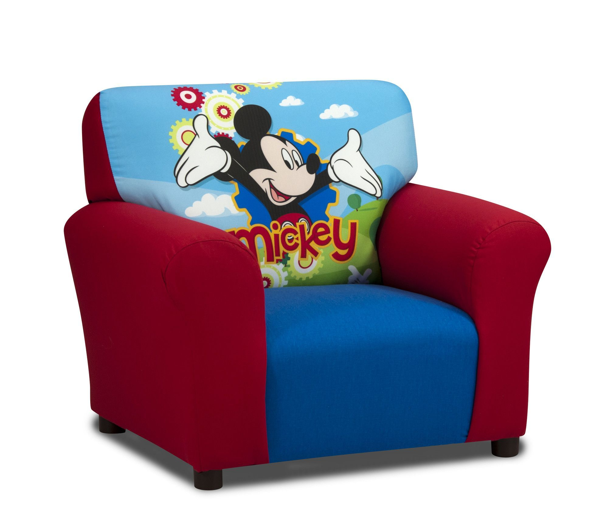 Disney Mickey Mouse Clubhouse Kids Cotton Chair Mickey Mouse