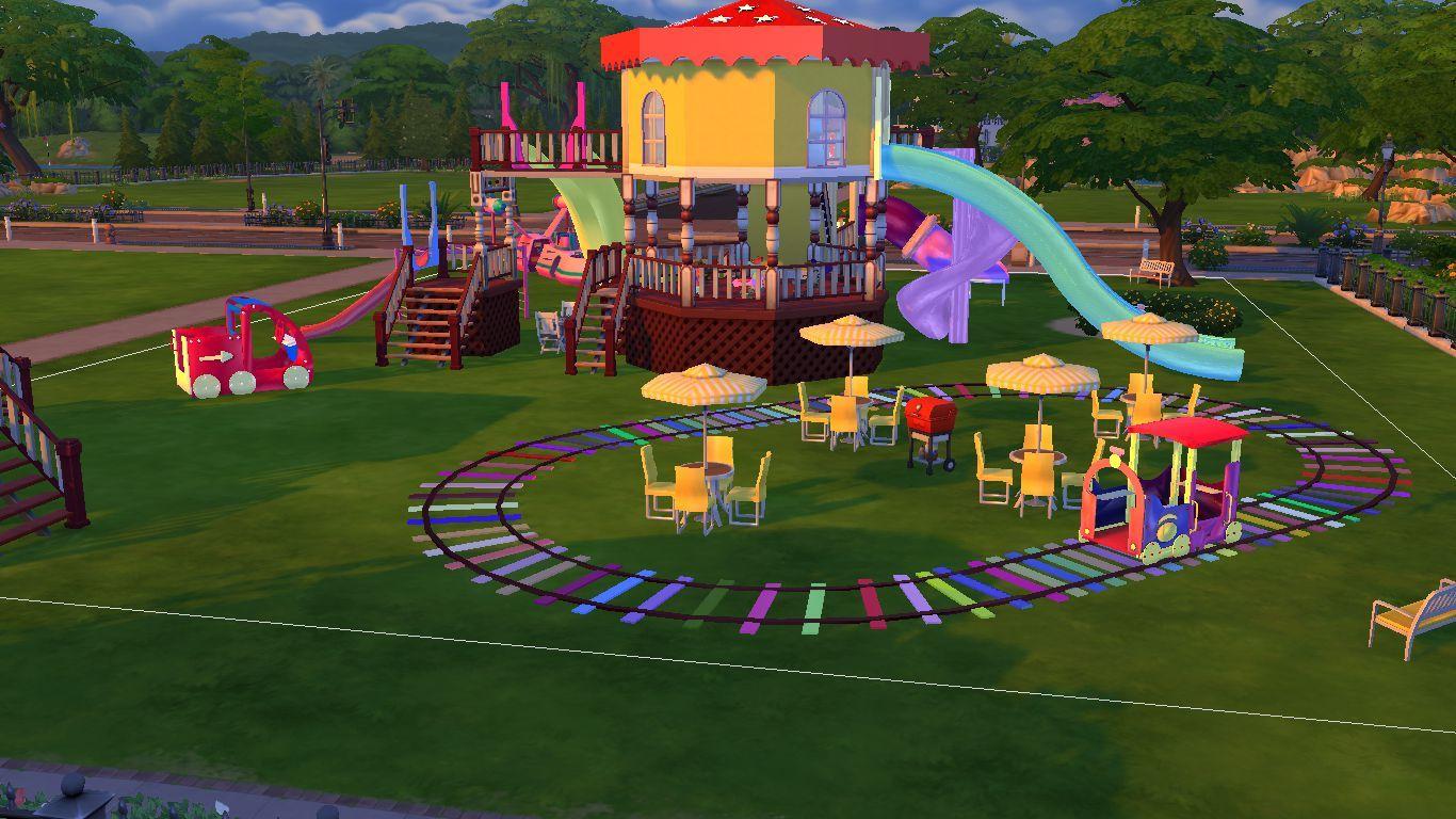 Sims 4 Kids Playground Item And Toys