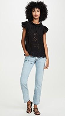 Sleeveless Lucia V Neck Top Size 0 models, V neck tops