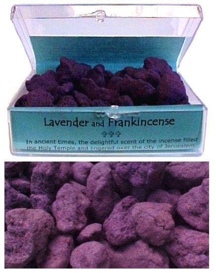 Lavender and Frankincense Incense