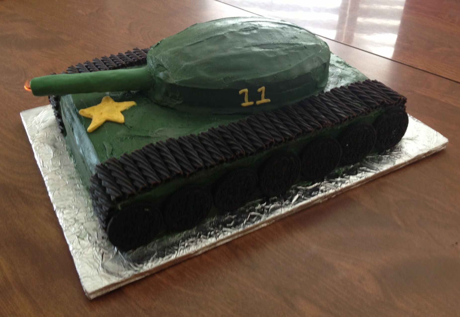 Army Tank cake My pleted Projects