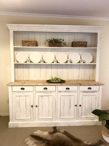 French Farmhouse Country Kitchen Dresser Buffet Hutch Other Furniture Gumtree Australia Banyule Area