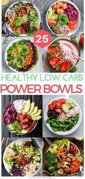 25 InstaWorthy Low Carb Power Bowls To Add To Your Weekly Keto Meal Prep LineUp