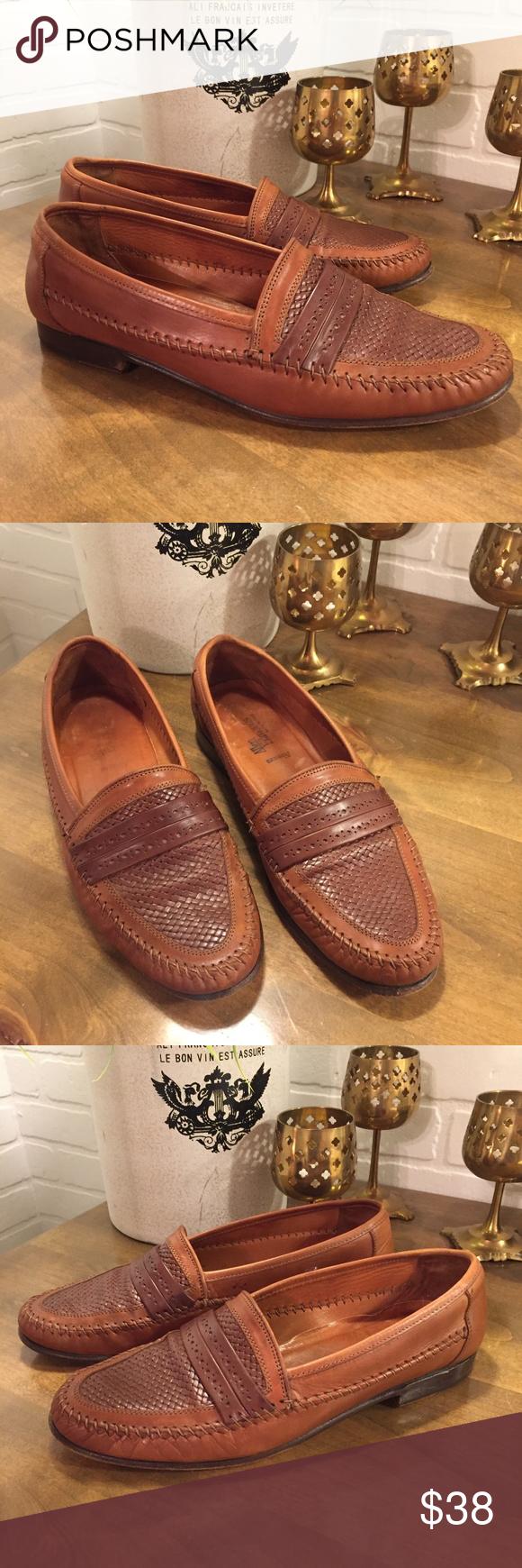 Allen Edmonds Novara Calf Leather Loafers Men 105 Brand Allen